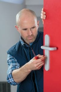 use a locksmith service